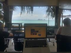 Coworking Setup at BeacHub