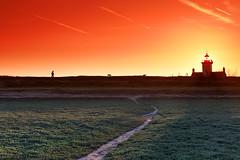 Agon lighthouse - Photo of Hérenguerville