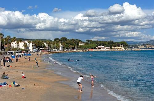 La Ciotat / The beach in May