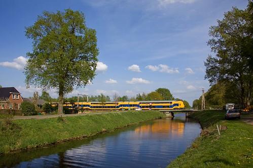 NS DDZ - IC 555 Rotterdam Centraal - Groningen  - Beilen