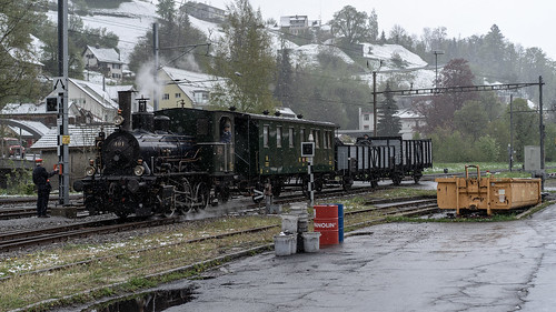 Winter steam: the small freight train (1/4)