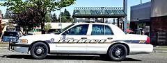 Tacoma Police Ford Crown Victoria