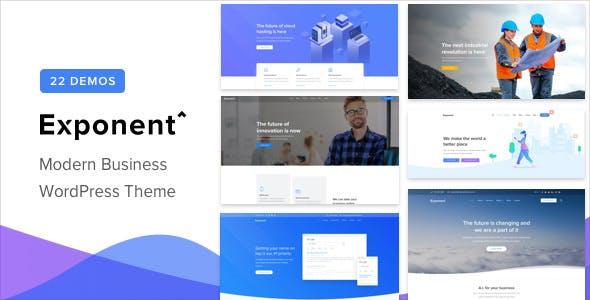 Exponent v1.2.4 - Modern Multi-Purpose Business Theme