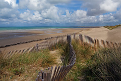 Sand dunes of Pirou - Photo of Lessay