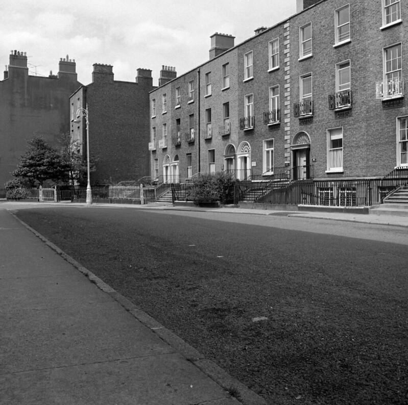 Georgian Street in Dublin.