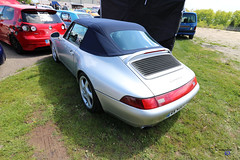 Porsche 911 type 993 cabrio back - Photo of Soucht