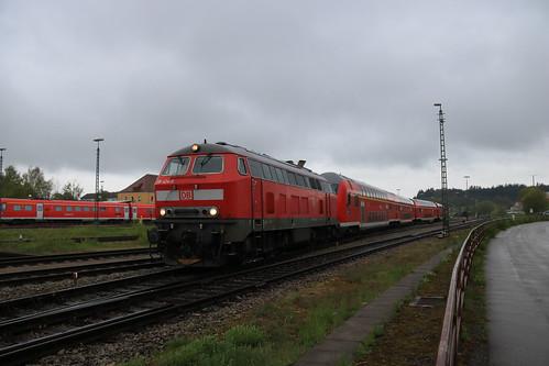 DB 218 424 te Kempten