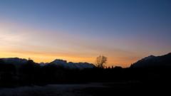 Coucher de soleil - Photo of La Bâtie-Neuve