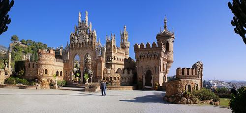 Fairytale Castilo de Colomares in Andalucía