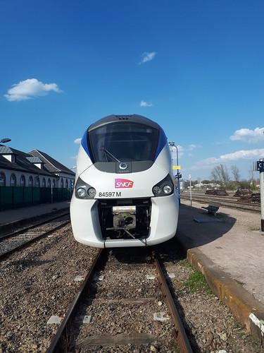 Niveau-Unterschied zwischen Zug und Bahnsteig (2)