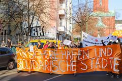Demonstration gegen Asylverschärfungen und für Seenotrettung Berlin