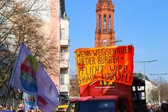 Demonstration refugees Sea rescue Berlin