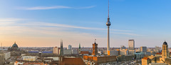 Above the roofs of Berlin Pano