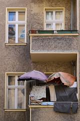 Balcony in Berlin Kreuzberg