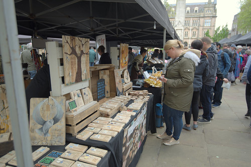 Makers Market 11 May in Preston - 2