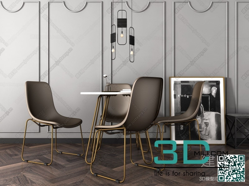 Collections table and chair 3D66 part 3 20