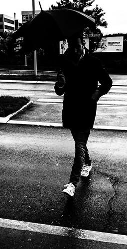Rainy day in Zug