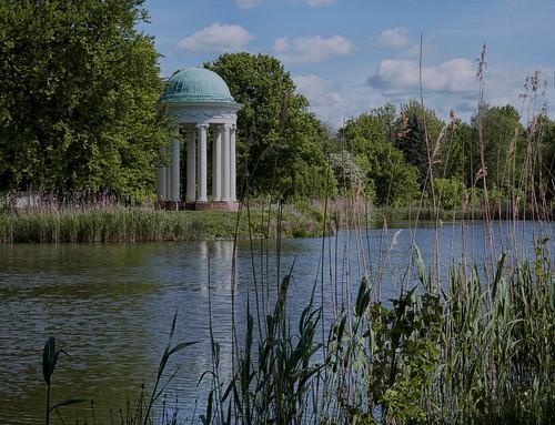 Agrapark Markkleeberg, bei schönstem Wetter