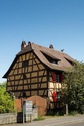 Hecken, maison alsacienne de 1841