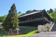 Todai-ji, Nigatsu-do (Worship Hall) -1 (May 2019)