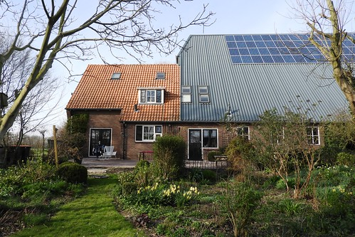 Farm House and Barn are Attached, Slootdorp, Netherlands