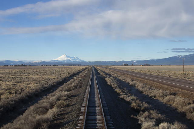 Mt. Shasta from the Modoc Plateau