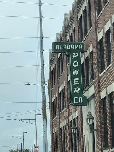 Vintage neon sign, Alabama Power
