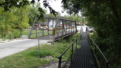 Gospel Street and Pedestrian Bridges, Paoli, IN (2)