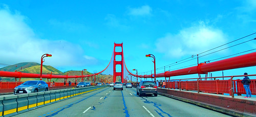 On and under the Golden Gate Bridge: A series (+4)