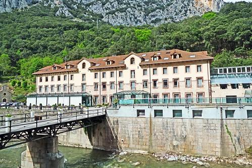Espagne, le centre thermale la Hermida en Cantabrie