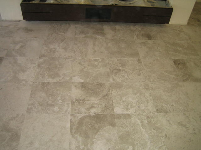 Polishing-and-laying-of-silver-travertine-adelaide