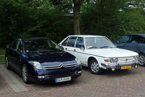 1978 Tatra 613 and a Citroën C6