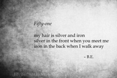 Fifty-One a Poem by Author Barbara Elder