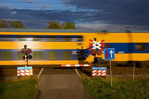Bahnübergang/overweg/crossing - Hooghalen