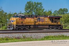UP 5504 | GE AC45CCTE | UP Marion Intermodal Railport