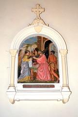 Salles-Arbuissonnas-en-Beaujolais (69) : église priorale Saint-Martin, station VI