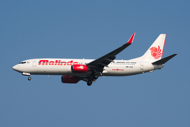 Malindo Air Boeing 737-8GP(WL) 9M-LNQ