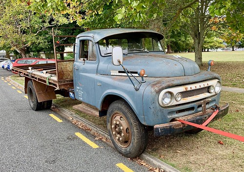 Early Aussie Toyota truck