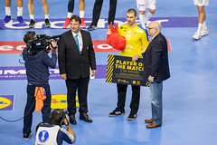 Player of the Match Marin Sego Team Croatia Handball World Championship 2019