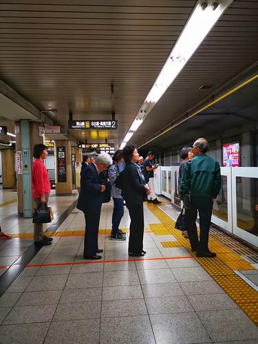 Take subway to go around Nagoya