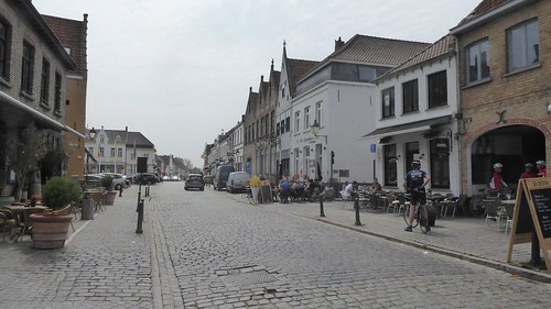 Cycling from Bruges to Damme