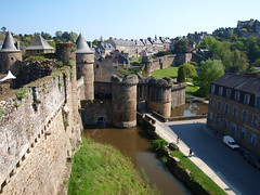 Vista del exterior del castillo (Castillo de Fougéres) - Photo of Beaucé
