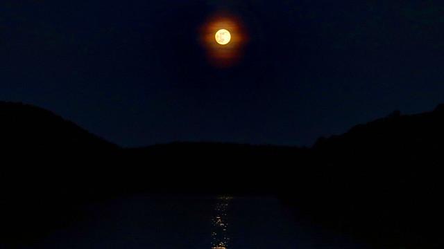 Moon Over the Housatonic