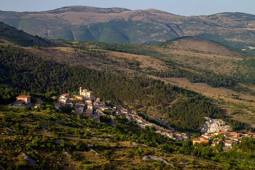 Rocca di Mezzo. Abruzzo, Italy