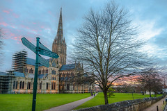 Salisbury Cathedral and Close