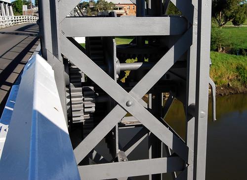 Hinton Bridge, Hinton, NSW.