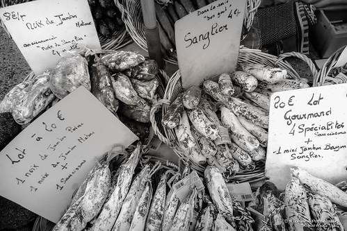 Saucisson de France - Market (Saint-Cyprien/FR)