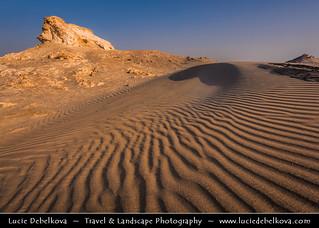 Bahrain - Morning light in Bahrain Desert