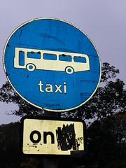 Brighton Taxi Sign