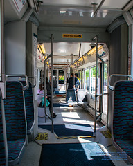 Inside A Tacoma Link Car at 10:40 In the Morning